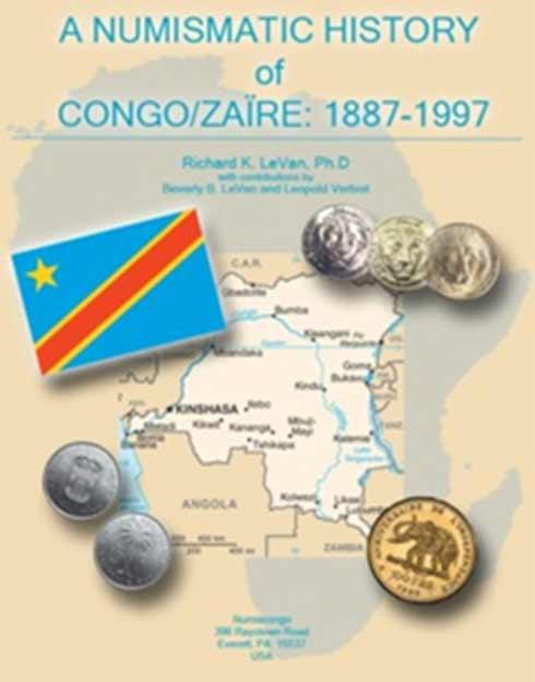 Numismatic history of Congo/Zaïre coins 1887-1997 - Van der Schueren Jean-Luc