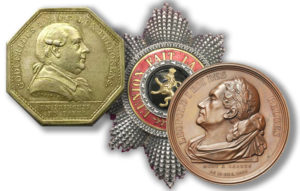 Médailles, jetons, décorations, ordres